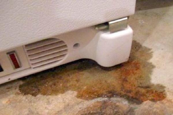 tủ lạnh sharp chảy nước